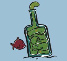 eel in a bottle Kids Tee