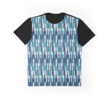 Blue Tiles Graphic T-Shirt