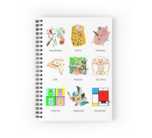 Art Lesson Spiral Notebook