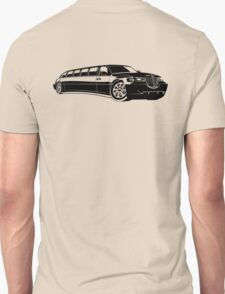 Cartoon limousine Unisex T-Shirt