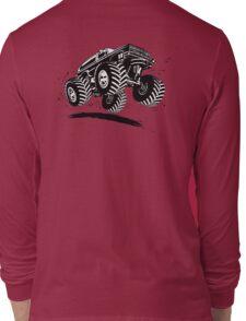 Cartoon monster truck Long Sleeve T-Shirt