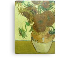 Sunflowers, Vincent van Gogh Metal Print