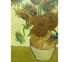 Sunflowers, Vincent van Gogh Photographic Print