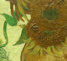 Sunflowers, Vincent van Gogh Sticker