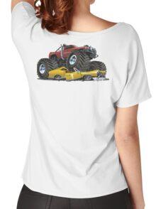 Cartoon monster truck Women's Relaxed Fit T-Shirt