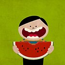 Watermelon by Sonia Pascual