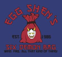 Egg Shen's 6 demon bag by CarloJ1956