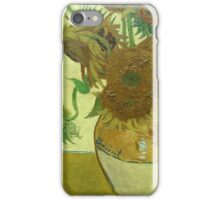 Sunflowers, Vincent van Gogh iPhone Case/Skin