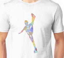 Multi-colour Skater Unisex T-Shirt