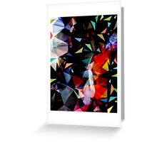 Triangles In Transition Greeting Card