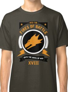 Into the Fires of Battle - Salamanders Classic T-Shirt