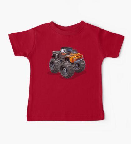 Cartoon monster truck Baby Tee