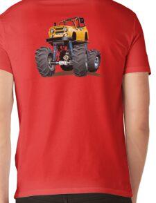 Cartoon monster truck Mens V-Neck T-Shirt