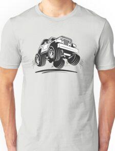 Cartoon Jeep Wrangler Unisex T-Shirt
