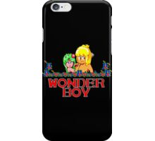 WONDER BOY - SEGA CLASSIC GAME iPhone Case/Skin
