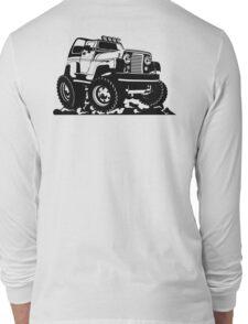 Cartoon Jeep Long Sleeve T-Shirt