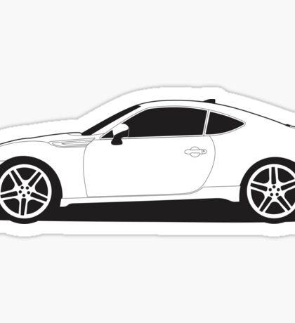 TRD FRS / Subaru BRZ Sticker