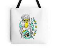 Evil genius monkey Tote Bag