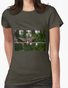 Meet Andrea The Giant III Womens Fitted T-Shirt