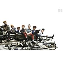 nct 127 once again poster Photographic Print