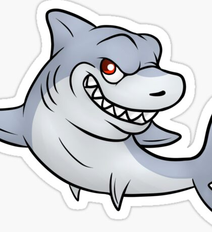SHARK! Sticker