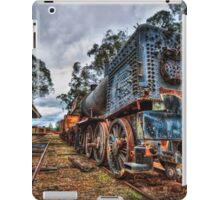 Blue bullet  iPad Case/Skin