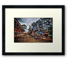 Blue bullet  Framed Print