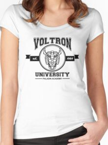 Voltron University Women's Fitted Scoop T-Shirt