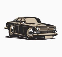 Cartoon retro car Kids Tee