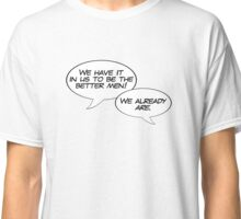 The Next Stage of Human Evolution Classic T-Shirt