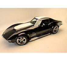 Tough 69 Corvette Photographic Print