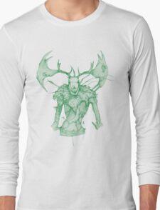 Green Leshen Long Sleeve T-Shirt