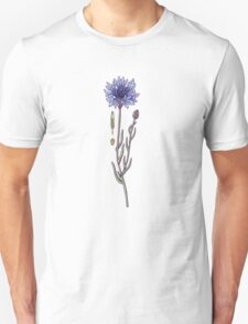 blue cornflower fields Unisex T-Shirt