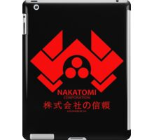 NAKATOMI PLAZA - DIE HARD BRUCE WILLIS (RED) iPad Case/Skin