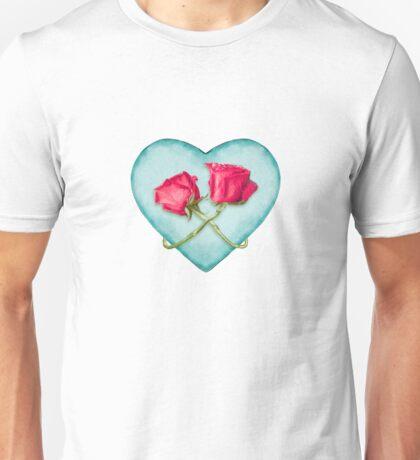 Love Ornate Motif Print Unisex T-Shirt
