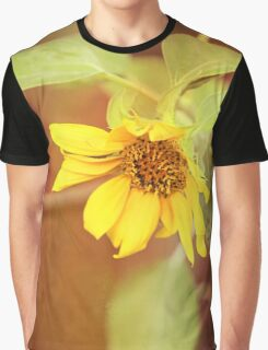 Dreaming Sunflower Graphic T-Shirt
