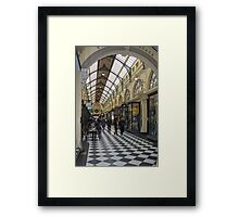 Royal Arcade -  Melbourne, Vic.  Australia.  Framed Print