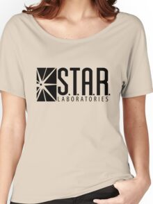 S.T.A.R. Laboratories | Black [HD] Women's Relaxed Fit T-Shirt