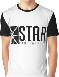 S.T.A.R. Laboratories | Black [HD] Graphic T-Shirt