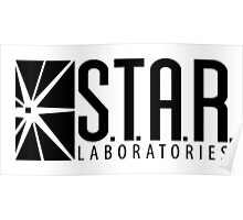 S.T.A.R. Laboratories | Black [HD] Poster