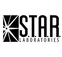 S.T.A.R. Laboratories   Black [HD] Photographic Print