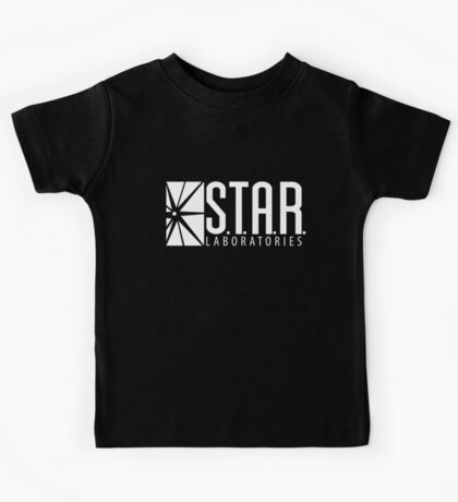 S.T.A.R Laboratories | White [HD] Kids Tee