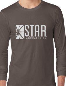 S.T.A.R Laboratories | White [HD] Long Sleeve T-Shirt