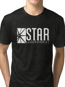 S.T.A.R Laboratories | White [HD] Tri-blend T-Shirt