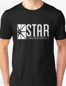 S.T.A.R Laboratories | White [HD] Unisex T-Shirt