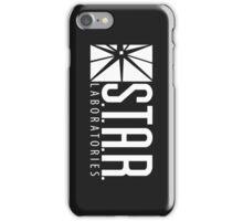 S.T.A.R Laboratories | White [HD] iPhone Case/Skin