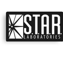 S.T.A.R Laboratories | White [HD] Canvas Print