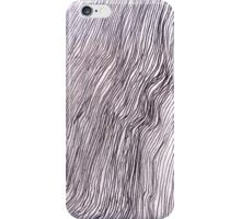 lines on the train iPhone Case/Skin