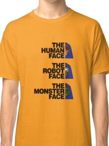 The North (Man-E) Face (Black Text) Classic T-Shirt
