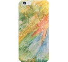 Rays of color iPhone Case/Skin